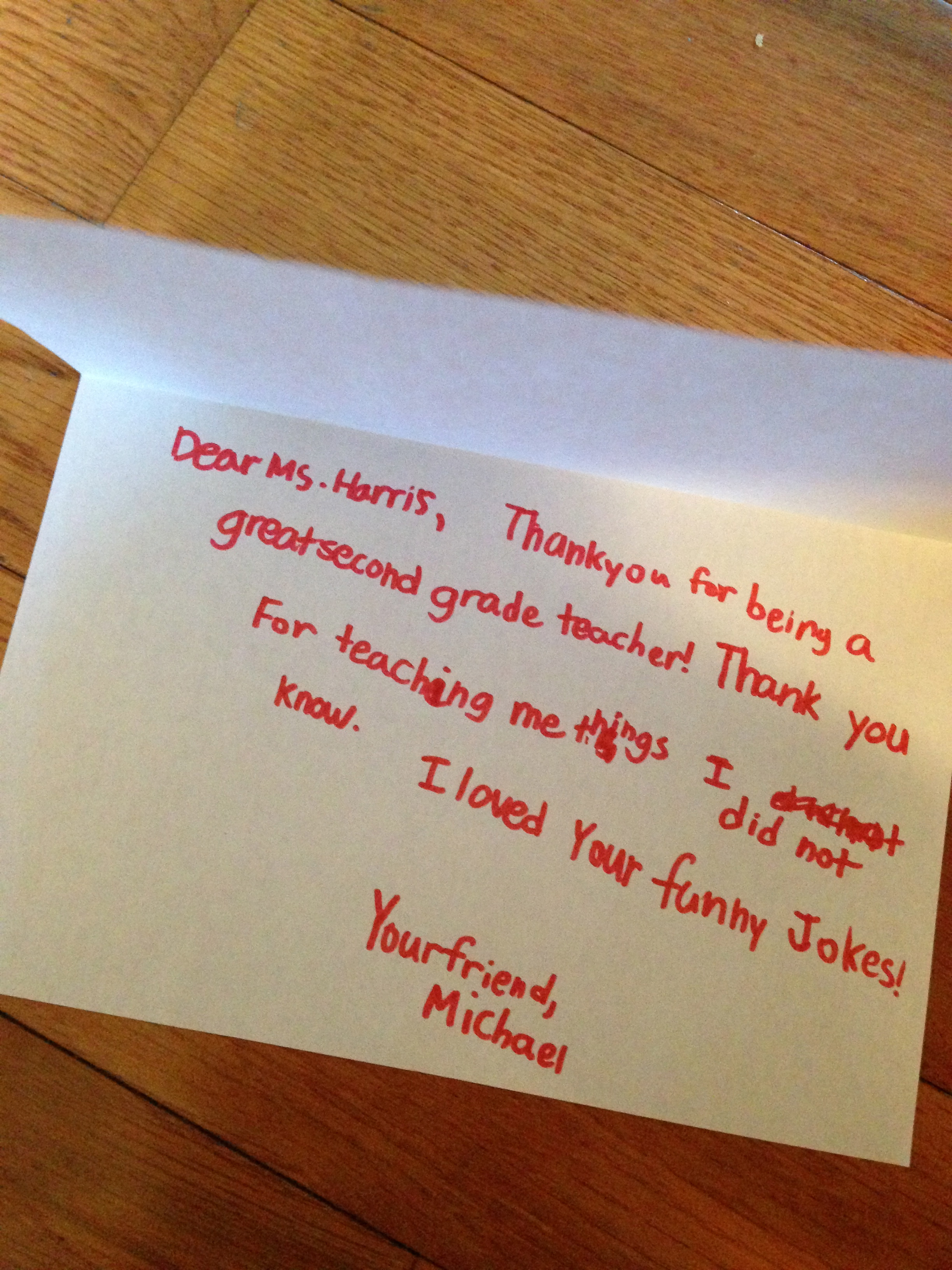 Sample Thank You Letters For Teacher Gifts Cover Letter Examples – Thank You Letter to Teacher